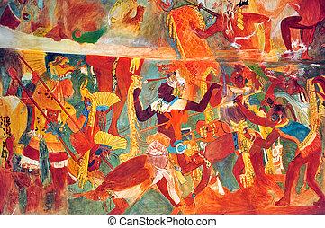 ville, musée, anthropolog, national, mexique