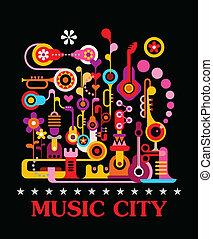 ville, musique