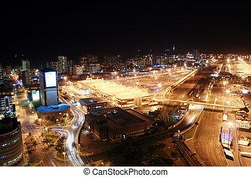 ville, nuit