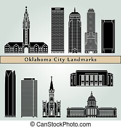 ville, oklahoma, repères