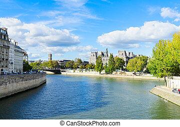 ville, paris, salle, france