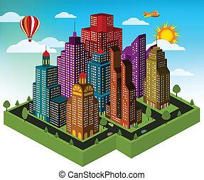 ville, perspective