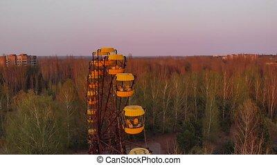 ville, plante, puissance, nucléaire, pripyt, chernobyl