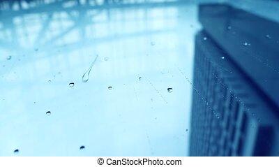 ville, pluie