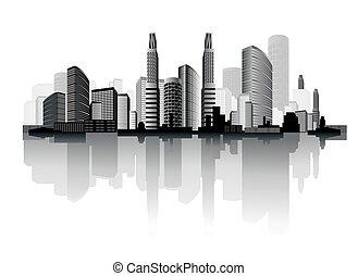 ville, résumé