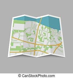 ville, résumé, emplacement, carte