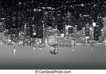 ville, résumé, fond