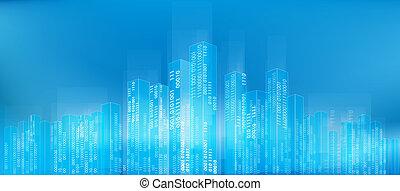 ville, résumé, numérique