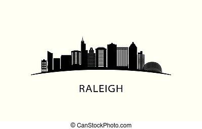 ville, raleigh, skyline.