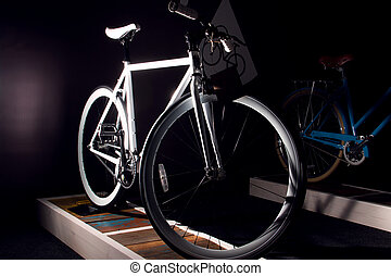 ville, rapide, vélo