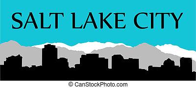 ville, salez lac