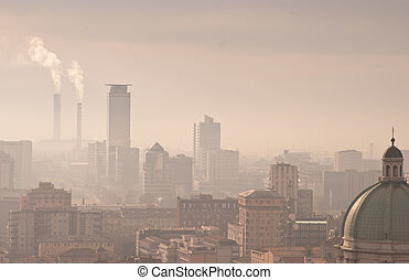 ville, smog