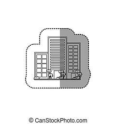 ville, urbain, bâtiments