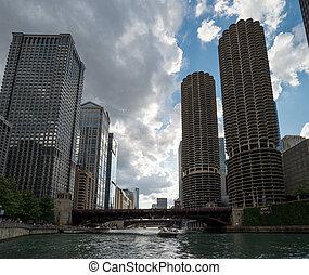 ville, usa, chicago
