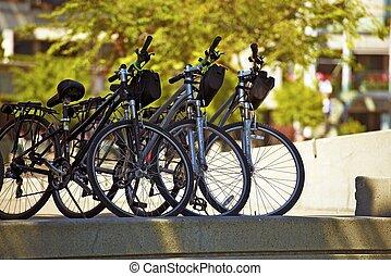 ville, vélos
