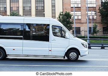 ville, va, minibus