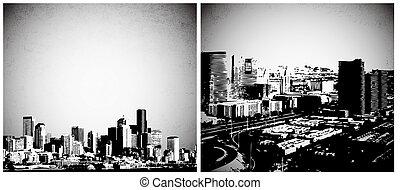 ville, vectors