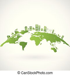 ville, vert, earth-1