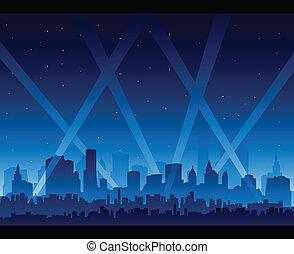 ville, vie nocturne