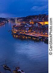 ville, vieux, porto, portugal