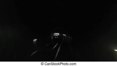 ville, voyager, métro