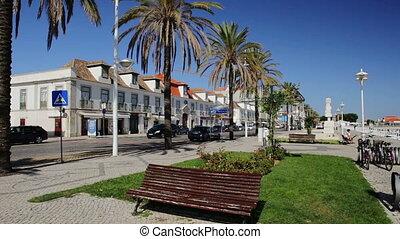 ville, vrai, vila, portugal, rues, vif, santo, antonio.