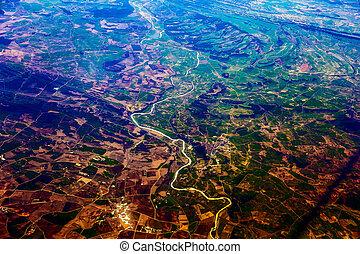 ville, vue aérienne
