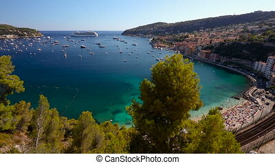 Villefranche Sur Mer, Côte d'Azur, France - 1080P Video clip...