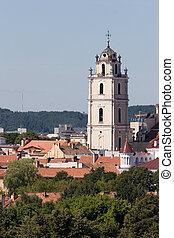 vilnius, églises