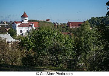 Vilnius city churchs - Vacation in Vilnius visiting churches...