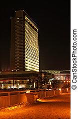 Vilnius city lights