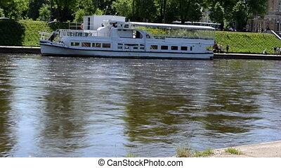 vilnius city ship river