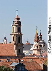 vilnius, iglesias