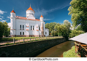 Vilnius, Lithuania. Cathedral Of Theotokos In Vilnius Old Town.