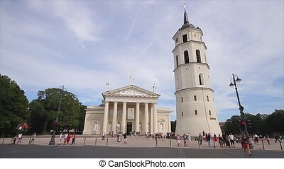 Vilnius, Lithuania, Cathedral Square