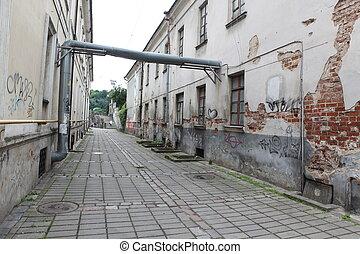 Vilnius old town street ,Lithuania