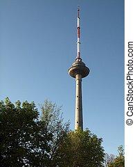 Vilnius TV tower - Media and data center of Lithuania.