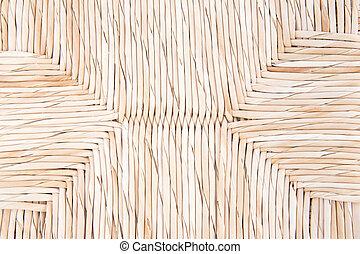 vime, handcraft, textura, fundo, tecer