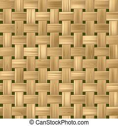 vime, seamless, textura, luminoso, rattan, padrão experiência, woody, tecer