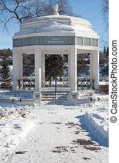 Vimy Memorial in Saskatoon - The Vimy Memorial Bandshell in...