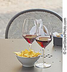 vin, apéritif