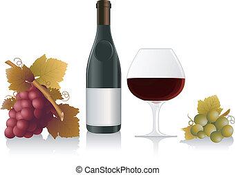 vin, concevoir élément