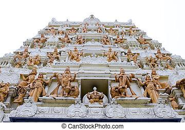 vinayagar, sri, senpaga, 寺院, シンガポール