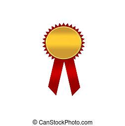vincitori, distintivo