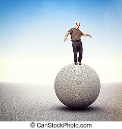 vinden, evenwicht