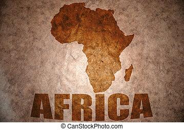 vindima, africano, mapa