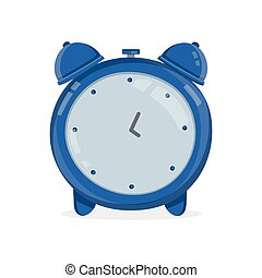 vindima, alarme, clock., vetorial, modernos, apartamento