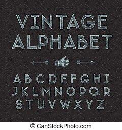 vindima, alfabeto