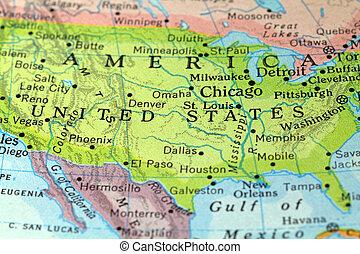 vindima, américa, mapa