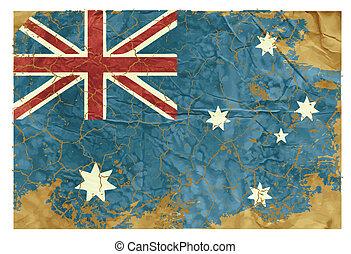 vindima, bandeira australiana